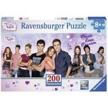 Ravensburger Panorama XXL puzzle - Violetta és barátai (200 db-os)