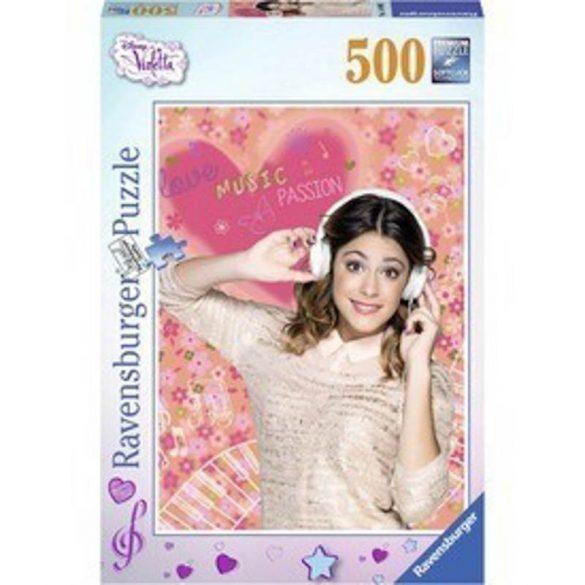 Ravensburger 14490 Disney puzzle - Violetta szereti a zenét (500 db-os)
