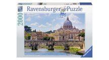 Ravensburger 16686 puzzle - Angyalok hídja, Róma (2000 db-os)