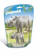 Playmobil 6638 Orrszarvú és kicsinye