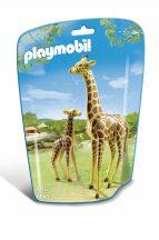 Playmobil 6640 Zsiráf és kicsinye