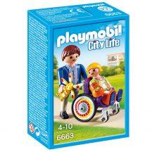 Playmobil 6663 Sérült kerekesszékkel