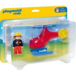 Playmobil 6789 Az első tűzoltóhelikopterem