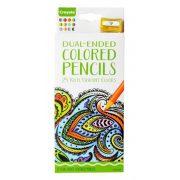 Crayola kétvégű színes ceruza hegyezővel