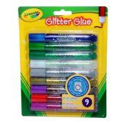 Crayola Lemosható csillámos ragasztó (9db-os)