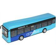 Bburago Street Fire City Bus - Kék játékbusz