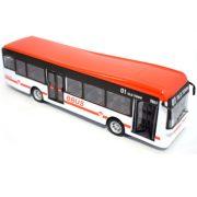 Bburago Street Fire City Bus - Piros játékbusz