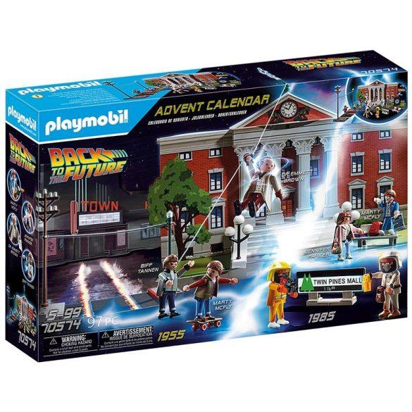 Playmobil Back to the Future 70574 Vissza a jövõbe Adventi naptár