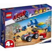 LEGO Kaland 2 70821 Emmet és Benny Épitő és javító műhelye