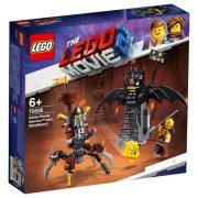 LEGO Kaland 2 70836 Harcra kész Batman és Fémszakáll