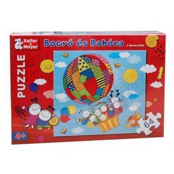 Keller & Mayer puzzle -  Bogyó és Babóca Léghajó (64 db-os) 713168