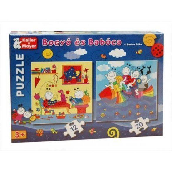 Keller & Mayer puzzle - Bogyó és Babóca Szivárványhal