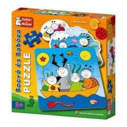 Keller & Mayer puzzle - Bogyó és Babóca 3 puzzle játék kicsiknek (2-4-6 db-os) 713212