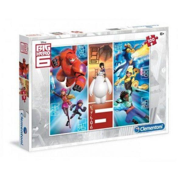 Clementoni 07231 puzzle - Big Hero 6 (100 db-os)