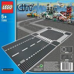 LEGO City 7280 Egyenes út és kereszteződés