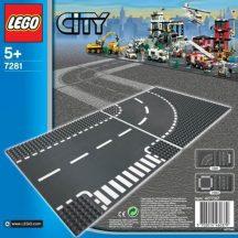 LEGO City 7281 Elágazás és kanyar