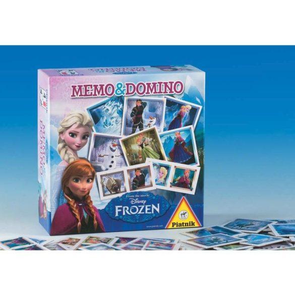 Piatnik Memo-Domino társasjáték - JÉGVARÁZS