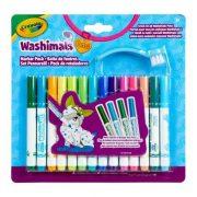 Crayola Washimals - Kimosható állatkák filctoll szett