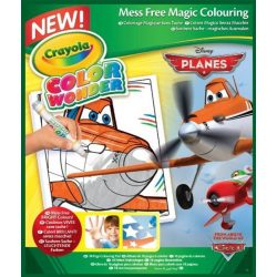 Crayola - Color Wonder Maszatmentes kifestő - Repcsik