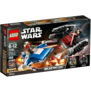 LEGO Star Wars 75196 A-Wing vs. TIE Silencer Microfighter