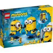 LEGO Minions 75551 Kocka minyonok és barlangjuk