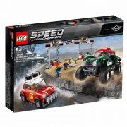 LEGO Speed Champions 75894 1967 Mini Cooper S Rally és 2018 MINI John Cooper Works Buggy