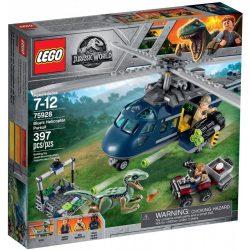 LEGO Jurassic World 75928 Blue helikopteres üldözése