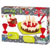 Écoiffier Születésnapi torta szett
