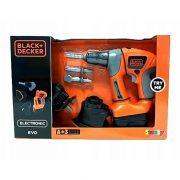 Smoby 360102 Black & Decker EVO elektronikus multifunkciós barkácsszerszám
