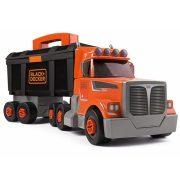 Smoby 360175 Black & Decker Összeépíthető szerszámos kamion