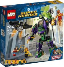 LEGO Super Heroes 76097 Lex Luthor robot támadása