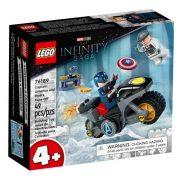 LEGO Marvel 4+ 76189 Amerika Kapitány és Hydra szemtõl szemben