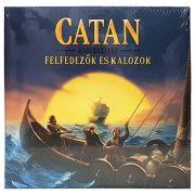 Catan telepesei társasjáték - Felfedezők és kalózok - kiegészítő csomag