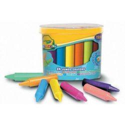 Crayola - tömzsi viaszkréta - 24 db