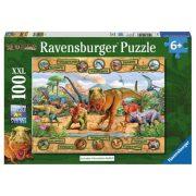 Ravensburger 106097 XXL puzzle - Dinoszauruszok (100 db)
