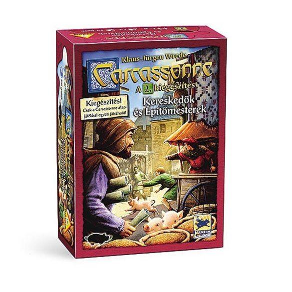 Carcassonne társasjáték - Kereskedők és építőmesterek - 2. kiegészítő csomag