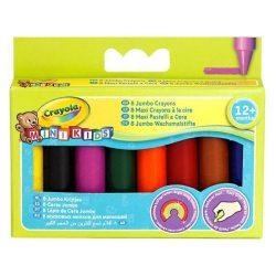 Crayola - tömzsi zsírkréta készlet - 8 db