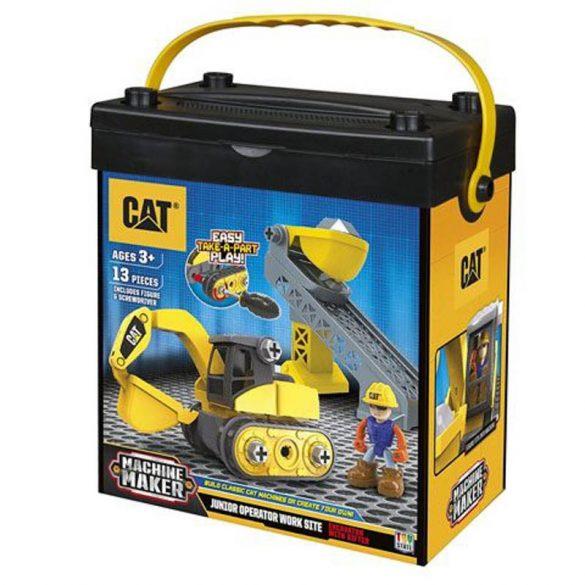CAT Junior Gépkezelő készlet EXCAVATOR