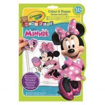 Crayola Minnie színező és foglalkoztató