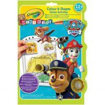 Crayola Mini Kids Mancs őrjárat színező füzet
