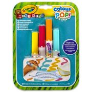 Crayola Colour POP! Irka-firka szőnyeg utántöltő filctollak (4 db-os)