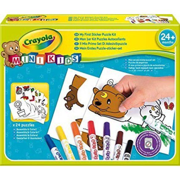 Crayola - Matricás puzzle kicsiknek
