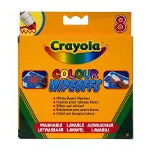 Crayola - 8 db-os vastag táblafilc