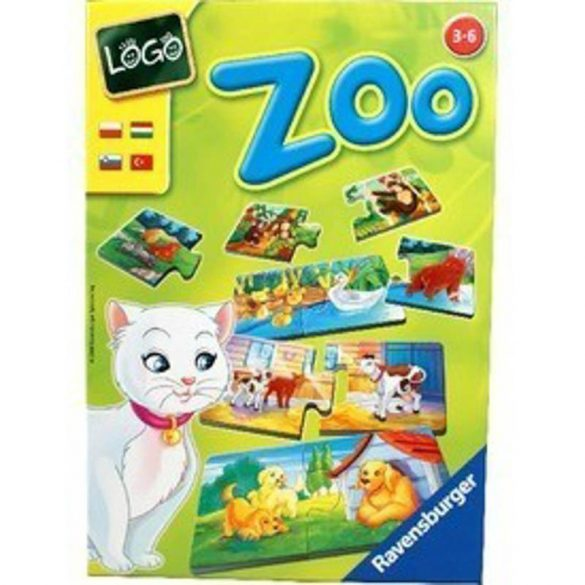 Logo Zoo: állatok és kölykeik párkereső társasjátéK