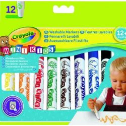 Crayola - tompahegyű, vastag filctoll - 12 db