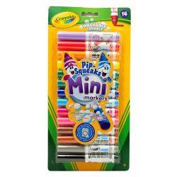 Crayola - Filctoll vastag, mini, 14 db