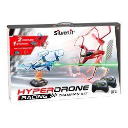 Silverlit HyperDrone versenykészlet kék és piros drónokkal