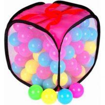 Mini labdák zsákban
