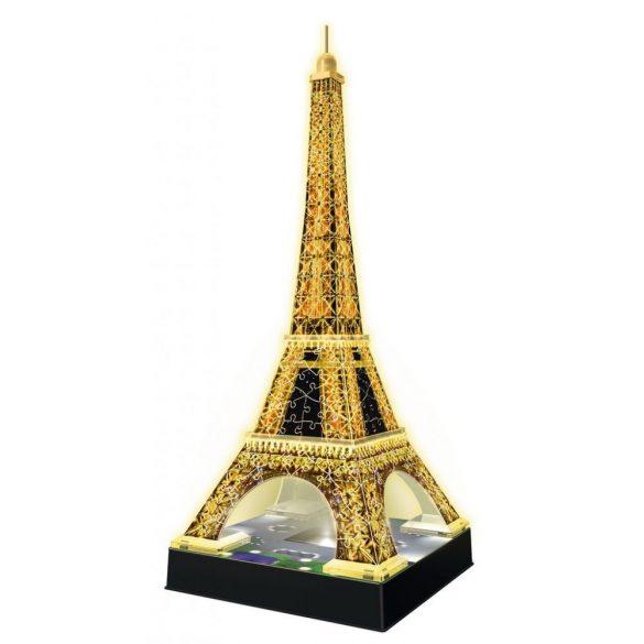 Ravensburger 12579 Night Edition 3D puzzle - Világító Eiffel torony (216 db-os)