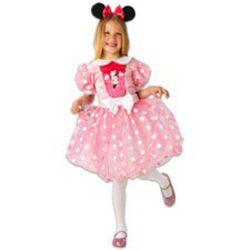 Disney gyerek jelmez - Minnie rózsaszín tüll (M-es méret, 116 cm)